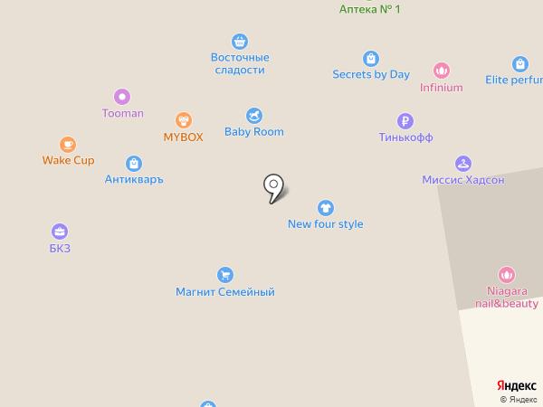 Gipfel на карте Ставрополя
