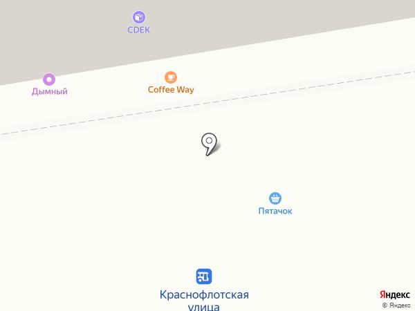 Пятачок на карте Ставрополя
