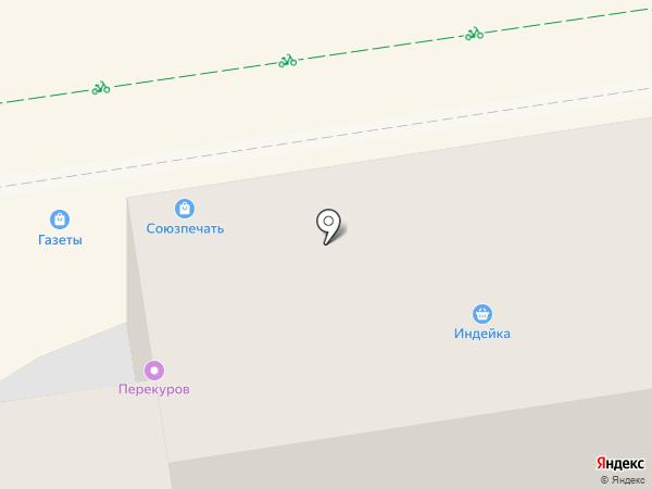 Жемчужина Ставрополья на карте Ставрополя