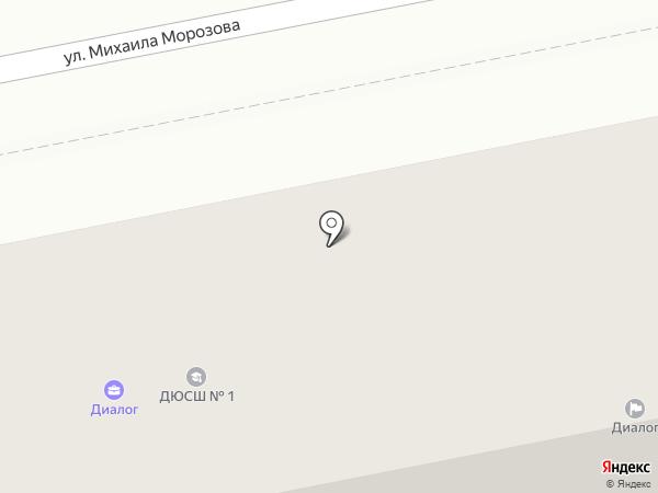 Микромаркет на карте Ставрополя