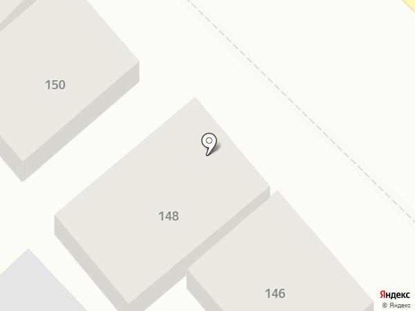 Почтовое отделение №1 на карте Ставрополя