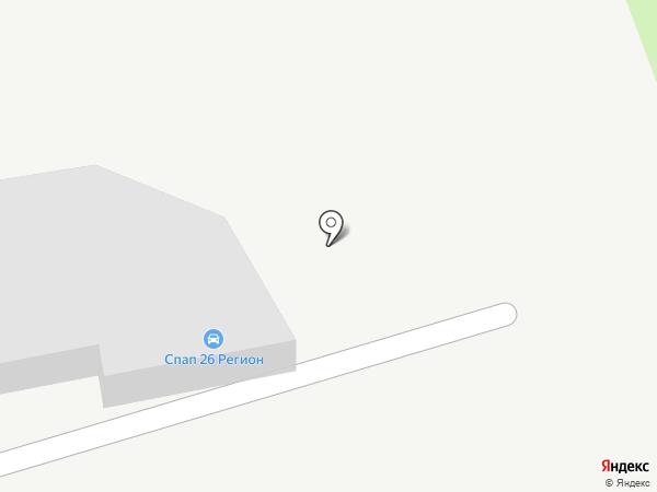Автосервис для Mazda на карте Ставрополя