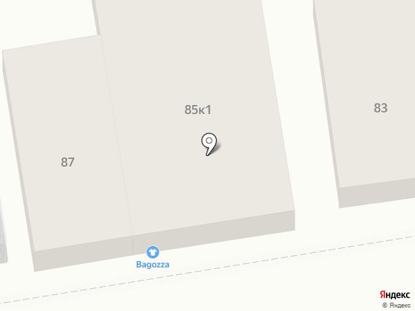 Bagozza на карте Ставрополя