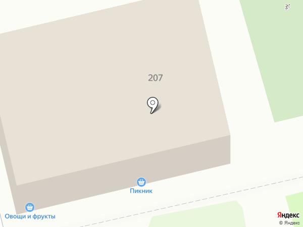 Пикник на карте Ставрополя