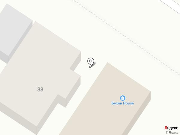 Бухен House на карте Верхнерусского