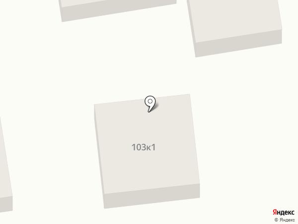 СТО на ул. Некрасова на карте Ставрополя