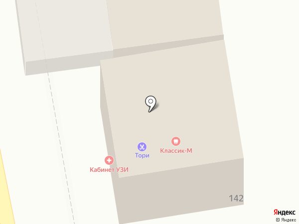Классик-М на карте Ставрополя