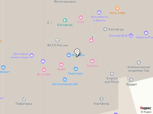 ВЭБ-лизинг на карте Ставрополя
