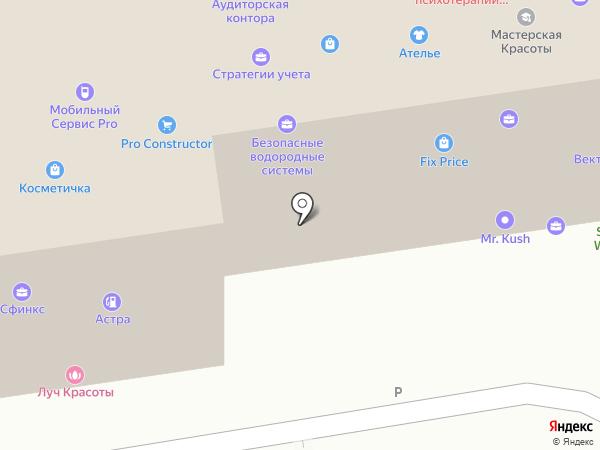 Koryna на карте Ставрополя