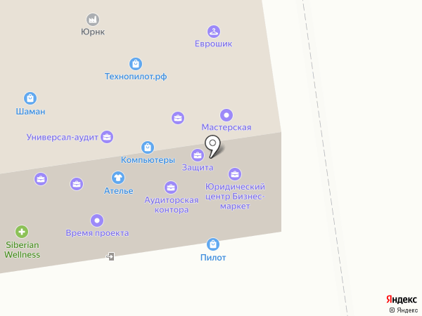 Портал-Юг Ставрополь на карте Ставрополя