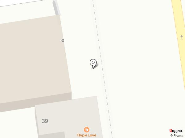 Барбари на карте Ставрополя