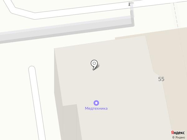 Магазин медицинской техники на карте Ставрополя
