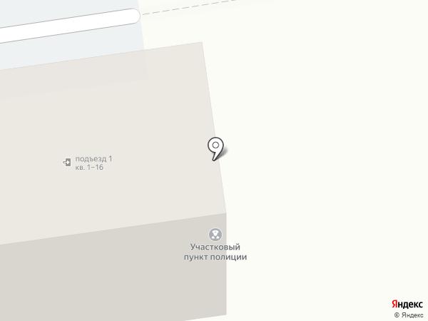 Участковый пункт полиции №4 на карте Ставрополя