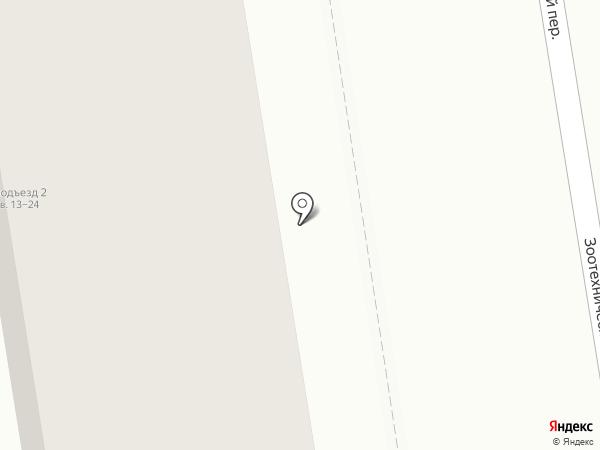 ПЕРЕПЛЕТ на карте Ставрополя