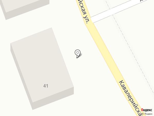 Баварец на карте Ставрополя