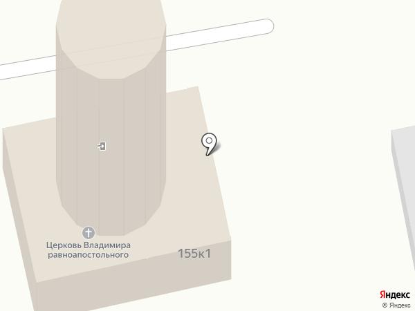 Андреевский Кафедральный Собор на карте Ставрополя