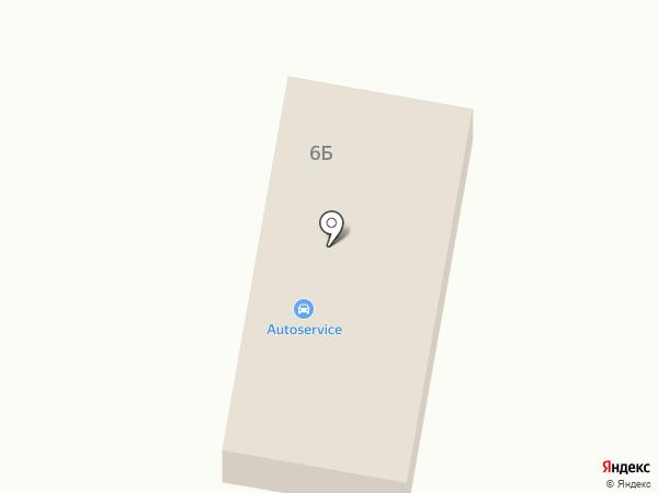 Автосервис на карте Верхнерусского