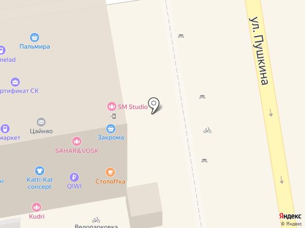 SM на карте Ставрополя