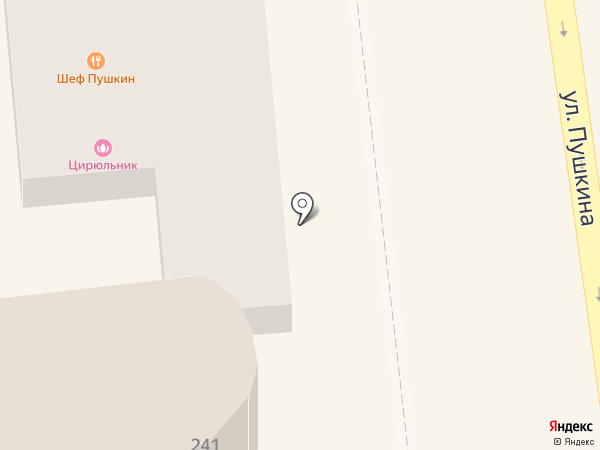 M 13 на карте Ставрополя
