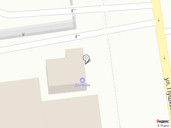 ДокФото на карте Ставрополя