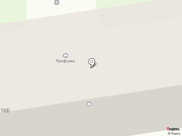 Федерация профсоюзов Ставропольского края на карте Ставрополя