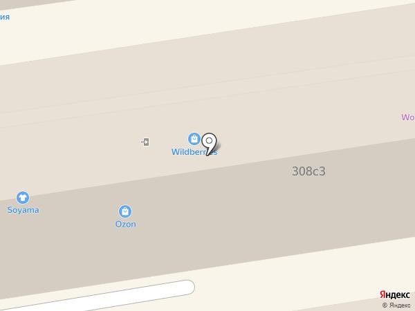 Cherokee на карте Ставрополя