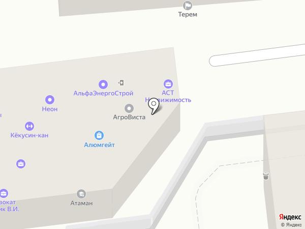 АСТ-недвижимость на карте Ставрополя