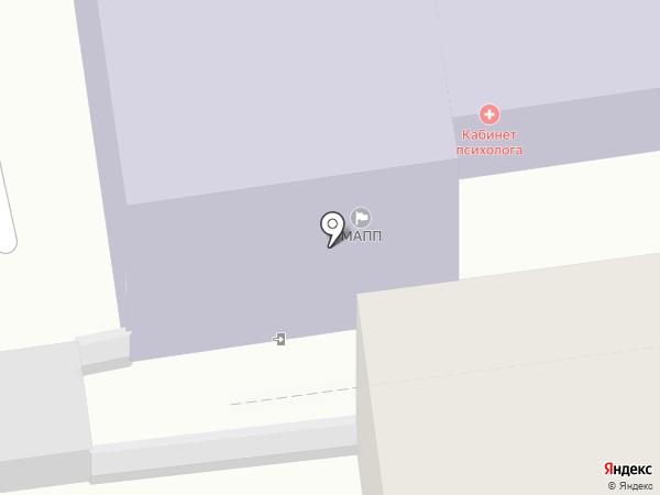 Ставропольский колледж сервисных технологий и коммерции на карте Ставрополя
