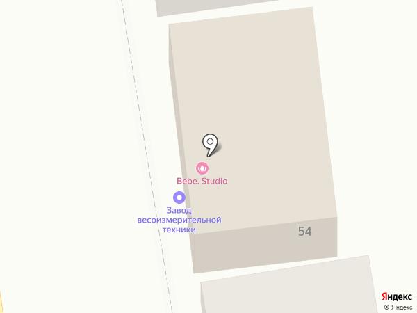 Стеллаж Центр на карте Ставрополя