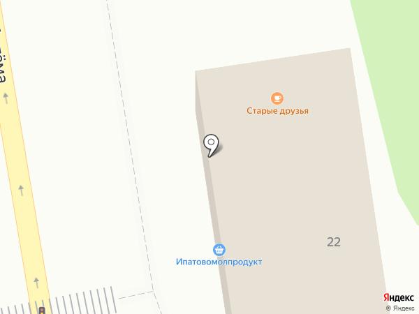 Магазин по продаже индейки на карте Ставрополя