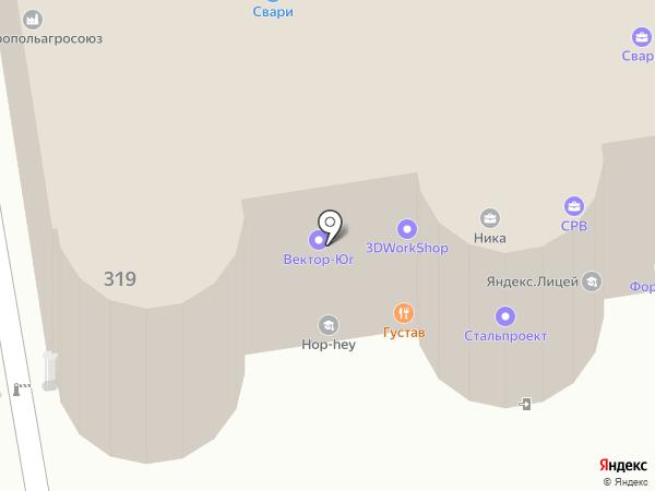 СРВ на карте Ставрополя