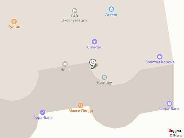 АКБ Фора-банк на карте Ставрополя