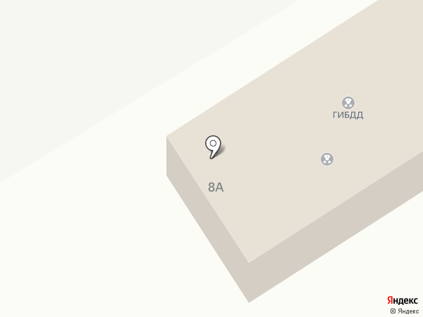 Отдел ГИБДД по Шпаковскому району на карте Михайловска