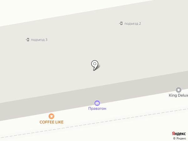 Магазин домашнего текстиля на карте Ставрополя