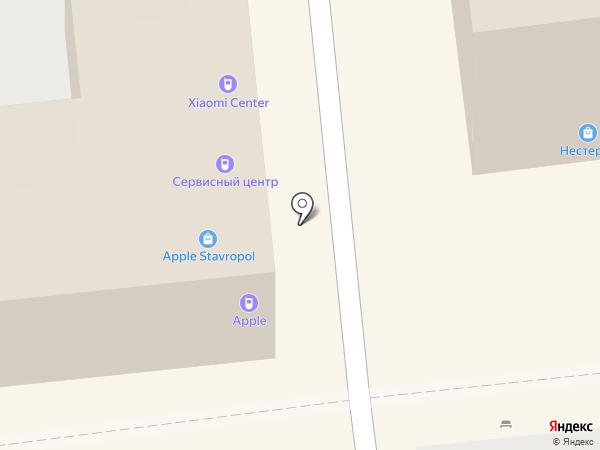 Apple-Stavropol на карте Ставрополя
