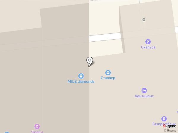 Ставвер на карте Ставрополя