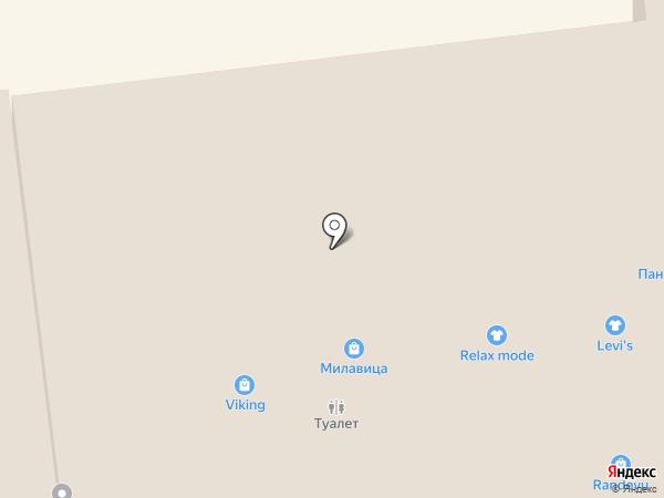 Кристалл на карте Ставрополя