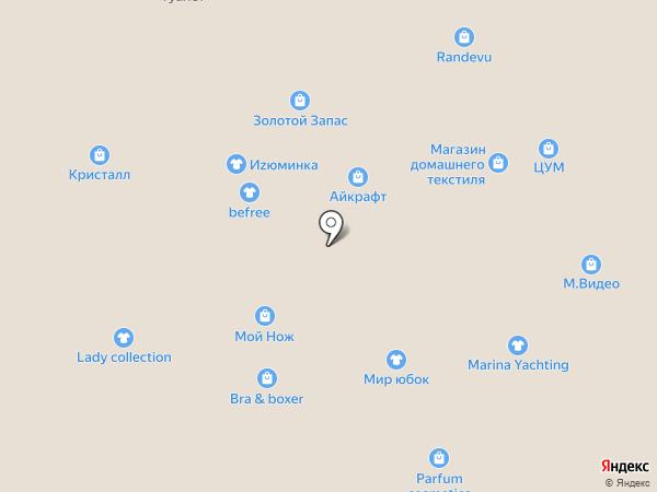 Магазин ножей на карте Ставрополя