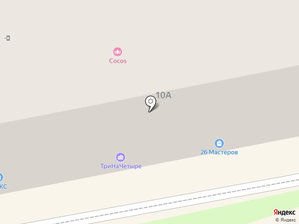 Козырный на карте Ставрополя