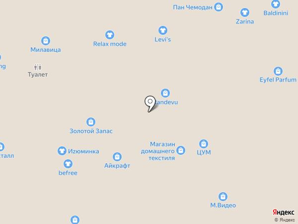 mendoza на карте Ставрополя