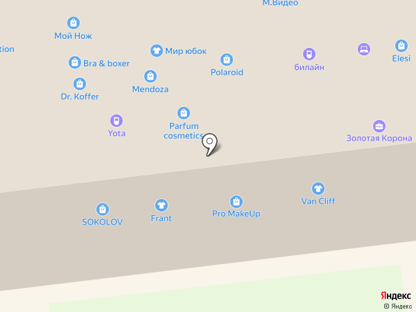 Lakbi на карте Ставрополя