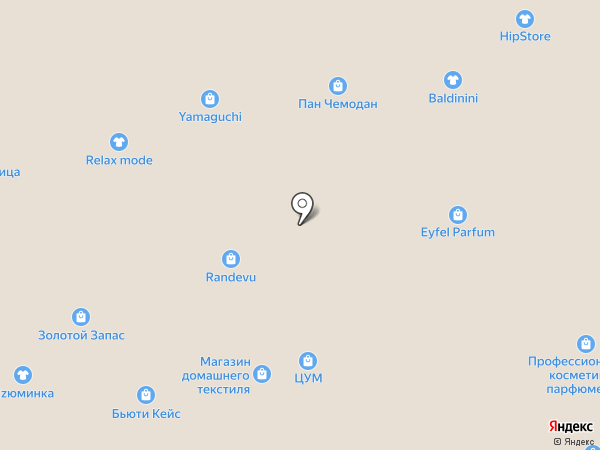 Конфаэль на карте Ставрополя