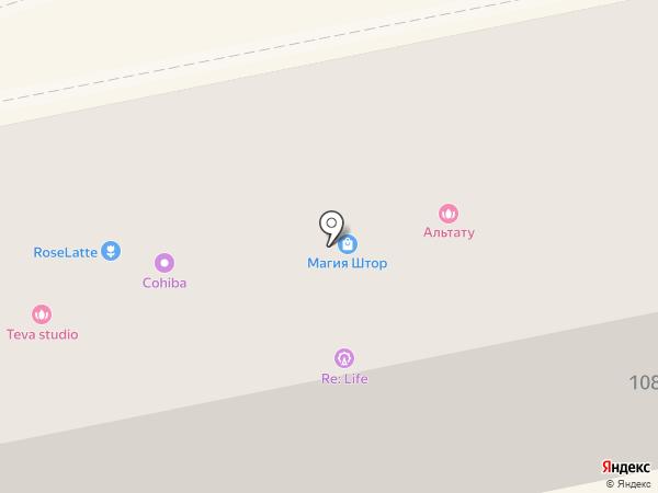 Телесемь на карте Ставрополя