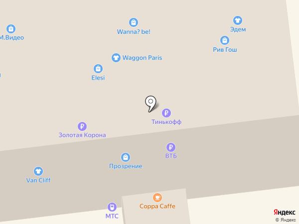 Линзомат на карте Ставрополя