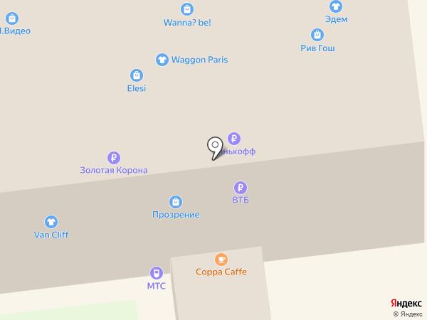 Императрица на карте Ставрополя