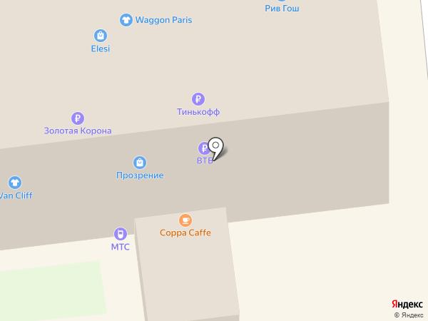 Магазин православных подарков на карте Ставрополя