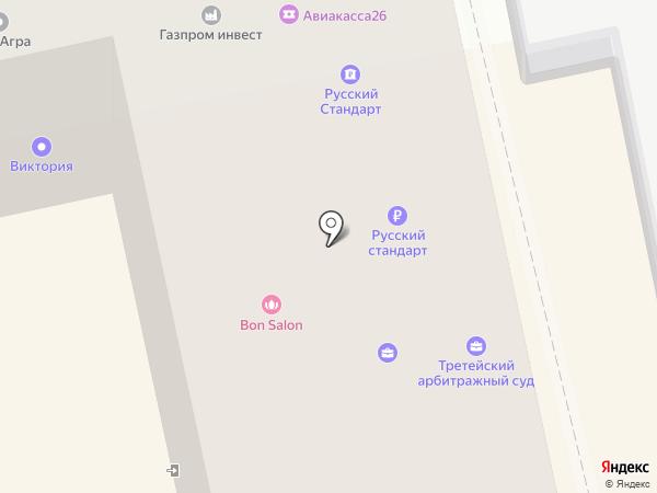 КомпЛЕКС на карте Ставрополя