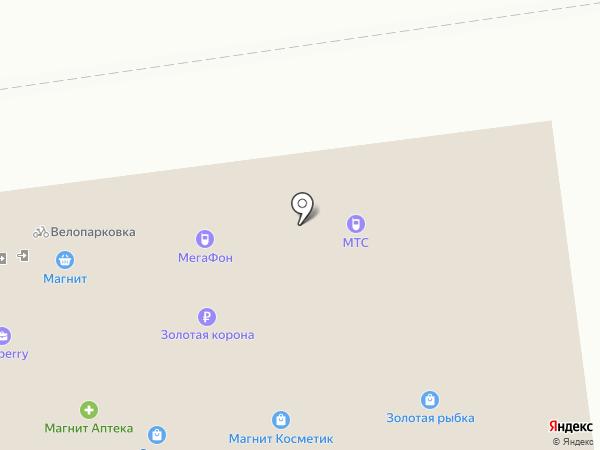 Цветочный салон на карте Ставрополя