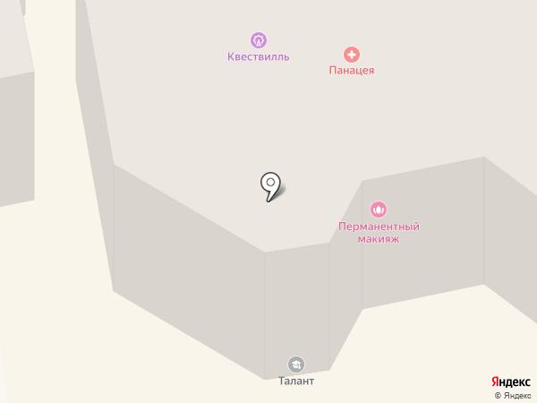 Ставропольская юношеская автошкола на карте Ставрополя