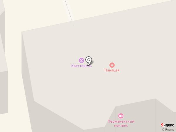Ставропольская юношеская автомобильная школа на карте Ставрополя